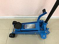 Домкрат гидравлический подкатной 3т с педалью для быстрого подъема (145-500мм)  UN83502