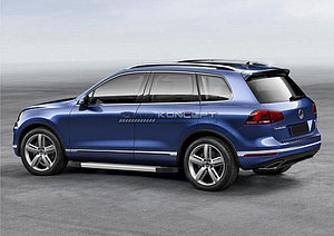 "Порог-площадка ""Silver""  Volkswagen Touareg R-Line 2014-"