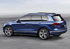 Пороги, подножки Volkswagen Touareg R-Line 2014-