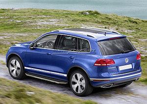 """Порог-площадка """"Premium"""" Volkswagen Touareg  2014-"""