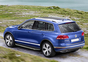 """Порог-площадка """"Premium"""" Volkswagen Touareg  2010-2014"""
