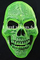 Карнавальная маска Череп фосфорная