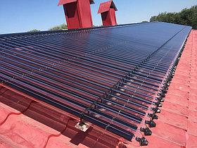 Солнечная водонагревательная станция Kingspan Thermomax HP400, мощностью 14,53 кВт в детском саду с. Акши, Алматинская обл 1