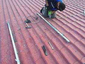 Солнечная водонагревательная станция Kingspan Thermomax HP400, мощностью 14,53 кВт в детском саду с. Акши, Алматинская обл 8