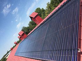 Солнечная водонагревательная станция Kingspan Thermomax HP400, мощностью 14,53 кВт в детском саду с. Акши, Алматинская обл 21