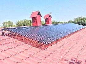 Солнечная водонагревательная станция Kingspan Thermomax HP400, мощностью 14,53 кВт в детском саду с. Акши, Алматинская обл 22