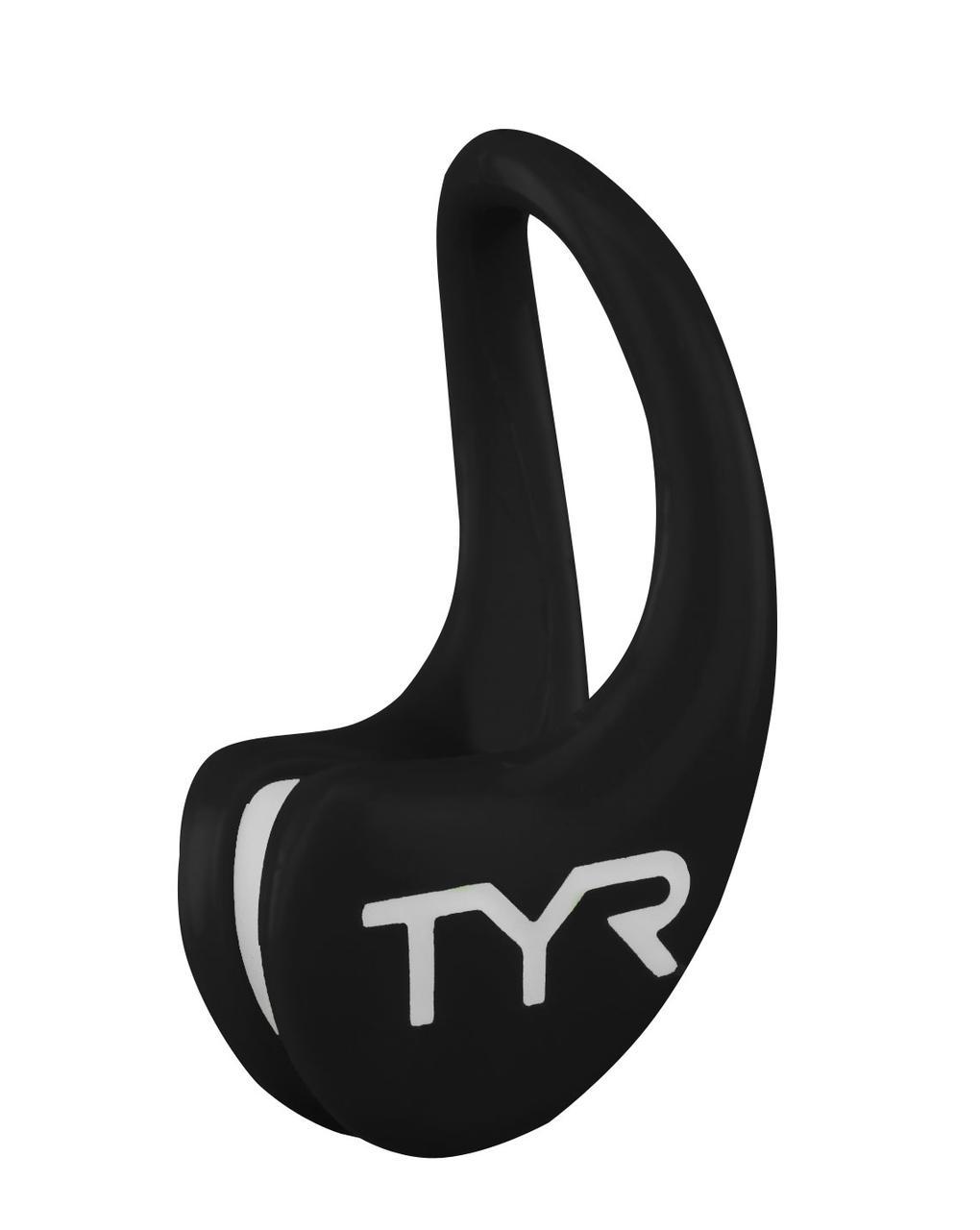 Зажим для носа TYR Ergo Swim Clip цвет 001 Черный