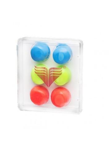 Беруши для бассейна TYR Youth Multi-Colored Silicone Ear Plugs