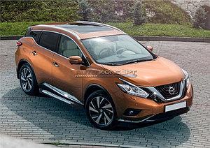 "Порог-площадка ""Bmw-Style"" Nissan Murano 2016-"