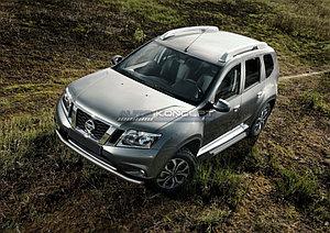 "Порог-площадка ""Silver""  Nissan Terrano 2014-"