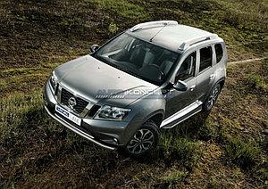 """Порог-площадка """"Premium"""" Nissan Terrano 2014-"""