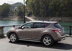 Пороги, подножки Nissan Murano 2011-2015