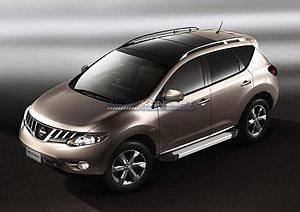 "Порог-площадка ""Silver""  Nissan Murano 2010-2012"
