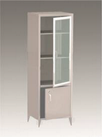 Шкаф металлический с двумя отделениями