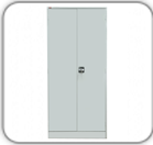 Шкаф металлический двухстворчатый с замком