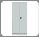 Шкаф металлический двухстворчатый с двумя замками