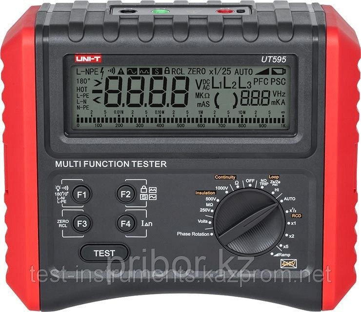 UT595 Измеритель петли короткого замыкания Uni-t.  Внесён в реестр РК
