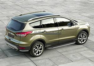 "Порог-площадка ""Premium"" Ford Kuga 2013-2016"