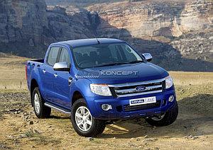 "Порог-площадка ""Premium"" Ford Ranger 2012-2015"