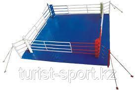 Ринг боксерский напольный на растяжках 6х6