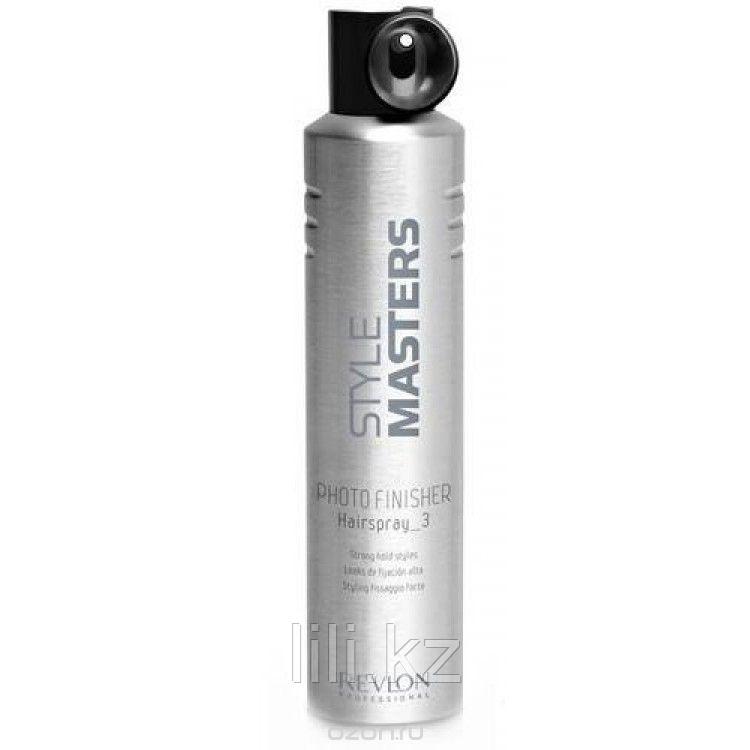 Лак для волос сильной фиксации Style Masters Photo Finisher Hairspray 500 мл.