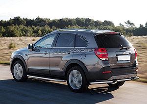"""Порог-площадка """"Premium"""" Chevrolet Captiva 2011-2013"""