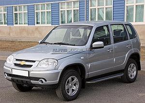 """Порог-площадка """"Premium"""" Chevrolet Niva 2009-"""
