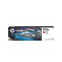 HP 973X увеличенной емкости, Пурпурный струйный картридж (F6T82AE)