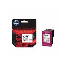 HP №652 Ink Advantage, Трехцветный струйный картридж (F6V24AE)