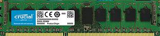 Crucial RAM 8GB DDR3L 1600 MT/s (PC3-12800) DR x8 ECC Registered DIMM 240pin