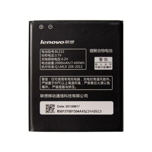 Заводской аккумулятор для Lenovo S8 (BL-212, 2000mAh)