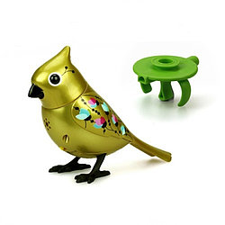 Золотая птичка с кольцом