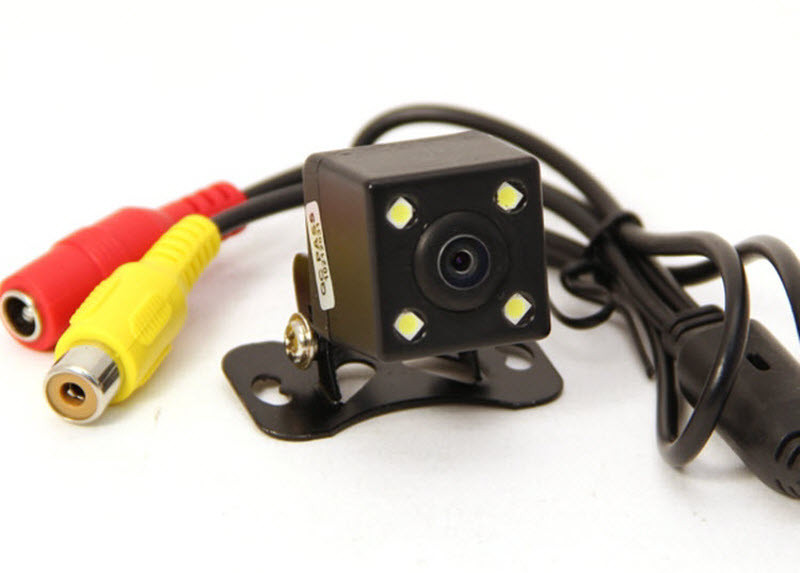 Универсальная камера заднего вида   E314 со светодиодной подсветкой