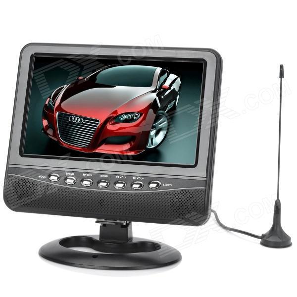 Портативный Телевизор TV NS 702 7.5 дюймов USB   SD