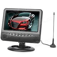 Портативный Телевизор TV NS 702 7.5 дюймов USB | SD