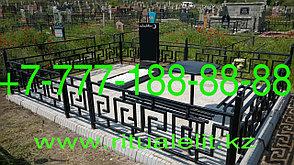 Облагораживание могилы тротуарной плиткой