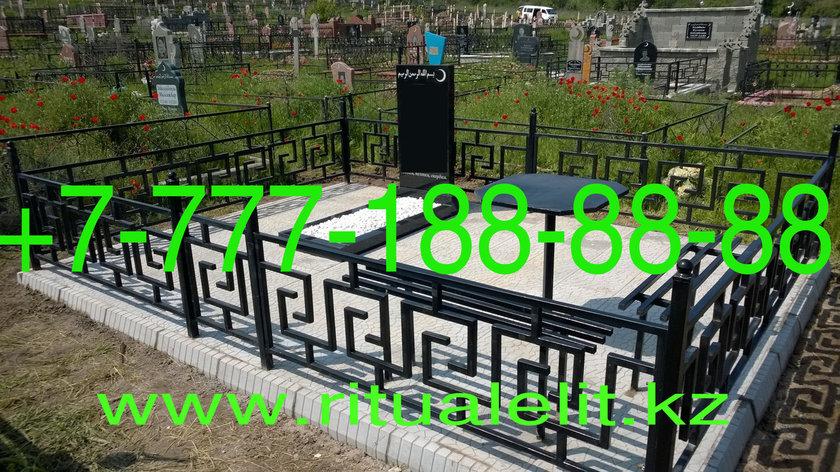 Облагораживание могилы тротуарной плиткой, фото 2