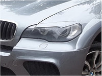 Реснички на фары BMW X5 (E70) вариант 2 широкие