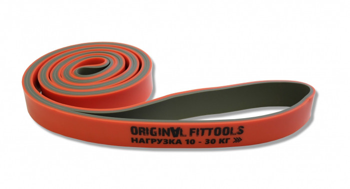 Эспандер-петля двуцветный 10-30 кг (FT-DCL-22)