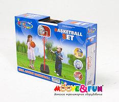 Детская баскетбольная стойка складная 116 см в чемодане арт. 20881G