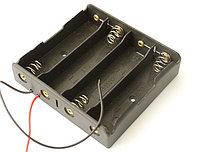 Держатель (батарейный отсек) для 4х18650 (14,8 В)