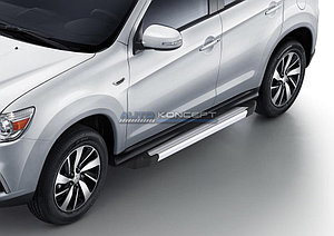 "Порог-площадка ""Silver""  Mitsubishi ASX 2013-2016"
