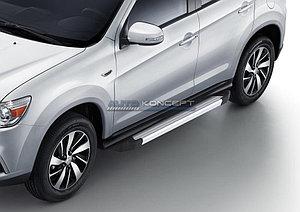 "Порог-площадка ""Silver""  Mitsubishi ASX 2010-2013"