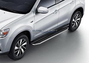"Порог-площадка ""Premium"" Mitsubishi ASX 2010-2013"