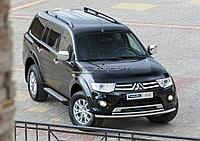 "Порог-площадка ""Bmw-Style"" Mitsubishi Pajero Sport 2008-2013"