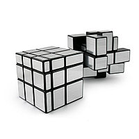 Кубик Рубика серебристый 3x3 Magic Square