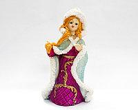 Сувенир-снегурочка, фиолетовая, 14 см