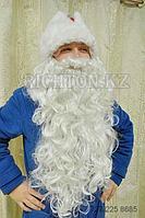 Борода парик  Дед Мороза профессиональный.