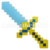 Светящийся меч Майнкрафт (Minecraft) алмазный 37.5 см