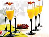 Набор бокалов для шампанского Luminarc Domino 170 мл 6 шт (H8167/6)